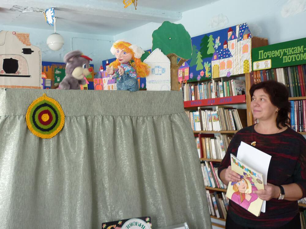 Театр куклы Сказки мышонка Сухарика