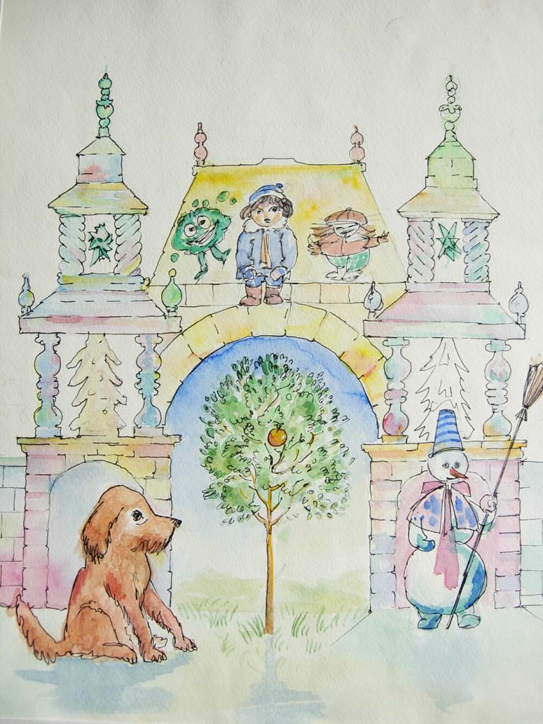 Иллюстрация к сказке Заветная мечта