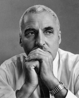 Константин Симонов портрет