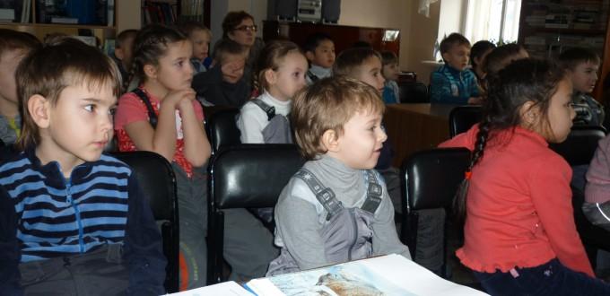 дети театрализованный литературно-экологический час «Звери на зимовке»