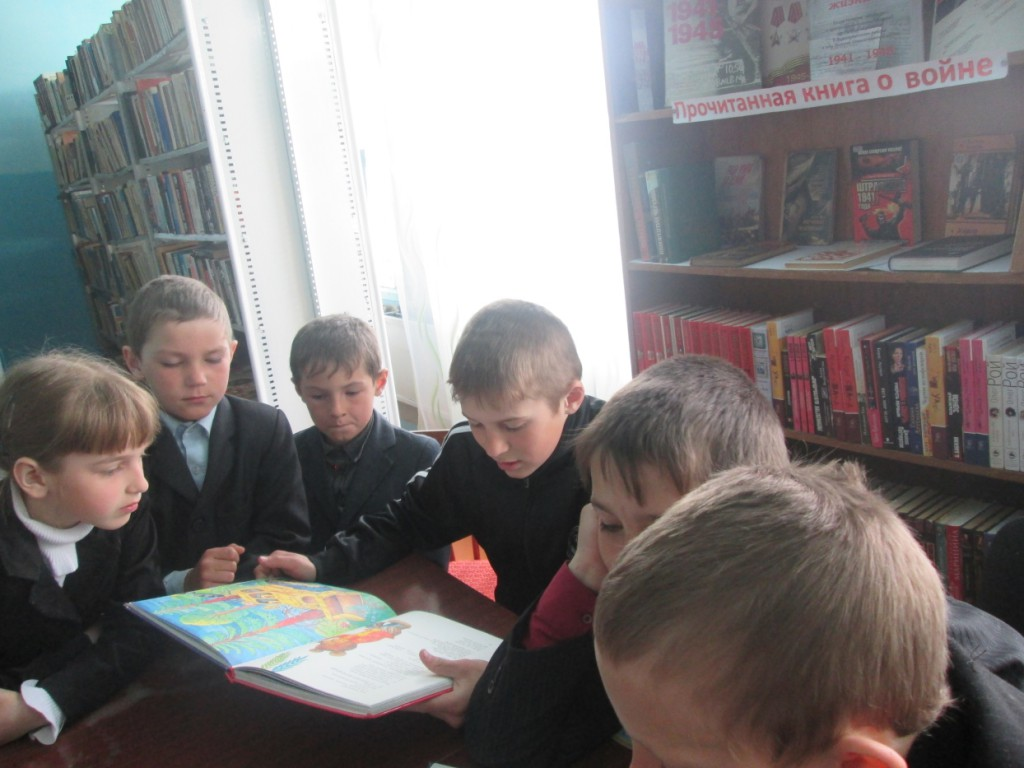 _Громкие чтения в Чеховской сельской библиотеке