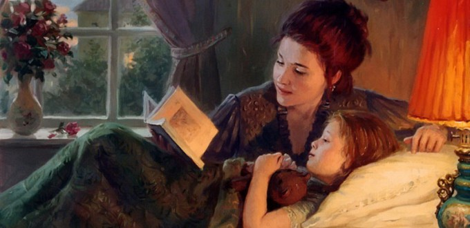 чтение детям книги