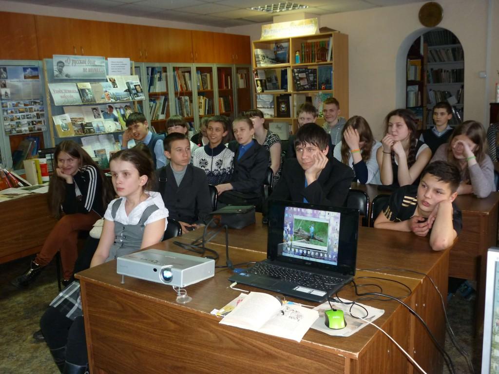 Школьники День птиц Иркутская областная детская библиотека им. Марка Сергеева