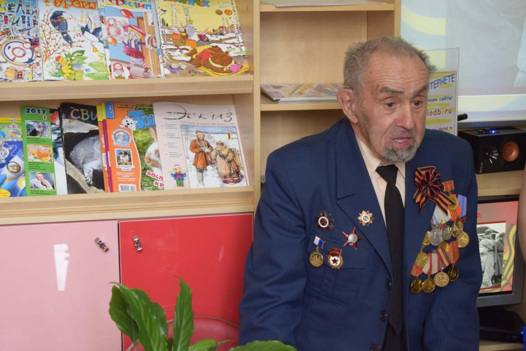 Ветеран ВОВ Михаил Тихонов Иркутская областная детская библиотека им. Марка Сергеева