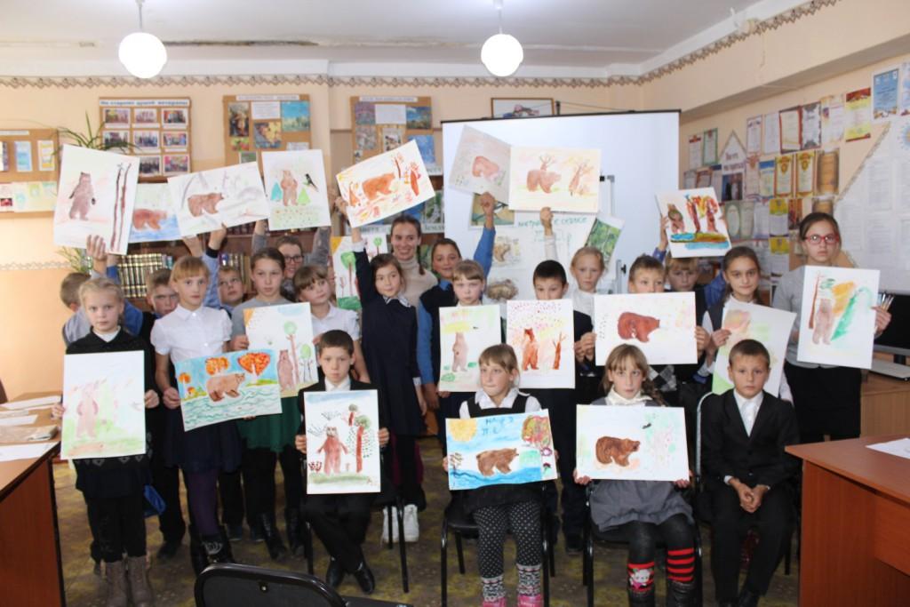 дети художник Марина Рюмшина Иркутская областная детская библиотека имени Марка Сергеева