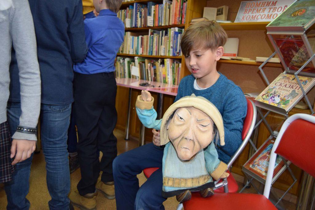 дети кукла Шаманка Иркутская областная детская библиотека им. Марка Сергеева