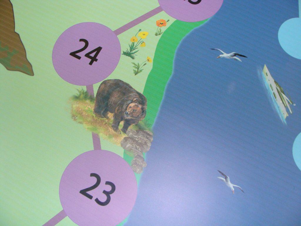 Напольная экоигра о Байкале Иркутская областная детская библиотека им. Марка Сергеева