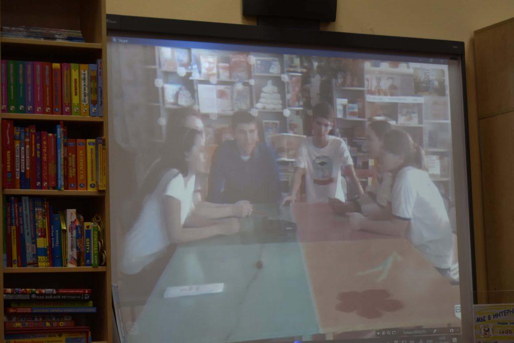 школьники-нерчинцы на экране
