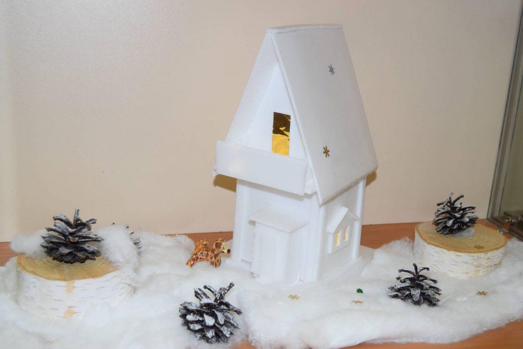 поделка домик
