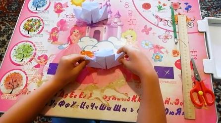 оригами пароходик